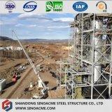 Structure lourde de bâti en acier pour la chaudière de centrale