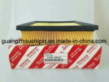 Qualitäts-materieller Papierluftfilter für Toyota-Hochländer/Kassie (17801-0P051)