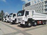 HOWO 아주 새로운 8*4 덤프 트럭 또는 쓰레기꾼 트럭 팁 주는 사람