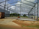 Мастерская стальной структуры здания новой конструкции экономичная зеленая