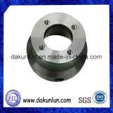 Parte trabajada a máquina CNC con acero inoxidable/aluminio/latón