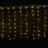 Férias coloridas ao ar livre LED Decoração de Natal 3 * 1m 144LED Cortina Light
