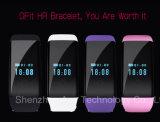 Bluetoothスマートなバンド適性は心拍数のモニタが付いている追跡者のブレスレットを遊ばす