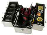 Leichter Hilfsmittel-tragender Kasten-Ablagekasten-Aluminiumaktenkoffer-Hilfsmittel-Kasten