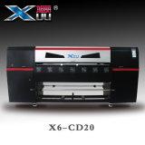 1.8m Digitals dirigent vers l'imprimante à bande en cuir d'unité centrale de PVC DTG avec la tête quatre Dx5