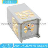 有能なランプ夜は3W寝室表ライトのための黄色い陰夜ライトの中のLEDをつける