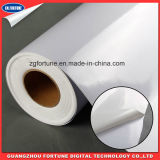 Qualitäts-bedruckbare Media weißer selbstklebender PVC-Vinylauto-Aufkleber
