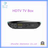 Rectángulo androide de alta definición de Qbox 4k WiFi TV de la televisión de la red para la familia