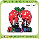 Kundenspezifische fördernde Geschenk-Dekoration-Maschine-Kühlraum-Magnet-Andenken New York (RC- US)