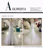 Aoliweiya 2017 Brautkleid-Hochzeits-Kleid mit dem rückseitigen Bördeln