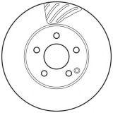 Disco del freno dei ricambi auto certificato Ts16949