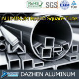 Perfil quadrado de alumínio da extrusão do alumínio da câmara de ar 6063 de Rond/