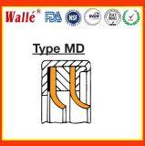 O bordo radial de Gfd sela o tipo MW com o bordo de selagem de PTFE