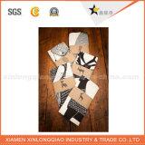OEMこつの札を包む熱いカスタムクラフト紙のソックス