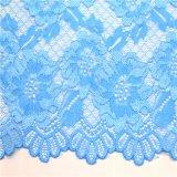 Ajustes florales azules del cordón del ganchillo para la ropa interior y el sujetador