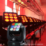 9PCS 10W LED Moving Head Beam Wash Matrix Lighting