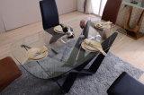 Stellte China-gutes Preis-hölzernes Furnier-BlattSpeisetisch für Haus ein (DTS-001)