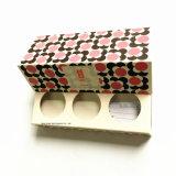 Contenitore di regalo di carta della candela con 3 scanalature