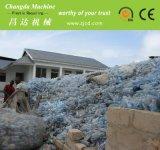 Lijn van het Recycling van de Was van de Fles van het huisdier de Verpletterende Drogende