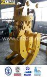 Gancho agarrador hidráulico del excavador de la cáscara de Orangel para la elevación del cargo