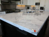 Weißes Artificial Quartz Stone für Countertop, Wall u. Floor Tiles