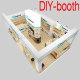 Cabine de alumínio da foto da tela da exposição portátil modular