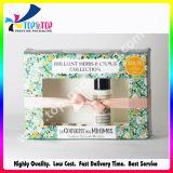 Картонная коробка 2017 оптовых продаж косметическая бумажная с окном