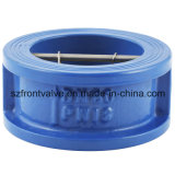 鋳造物IronかDuctile Iron Wafer Duo Plate Check Valve