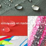 Tela impermeable del poliester de la pongis de la impresión con colorido y la impresión