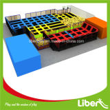 Sport Entertainment Fitness Cheap Square Large Kids Indoor Trampolins usados ​​à venda