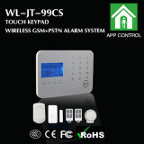 Network duel Intelligent Wireless GM/M Home Alarm avec Touch Keypad