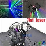 Laser de feixe principal movente da exploração do RGB