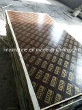 la película de la construcción de 4X8'*18m m hizo frente a la madera contrachapada impermeable de la madera contrachapada