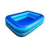 Qualitäts-überzogene Streifen Belüftung-Plane für Swimmingpool