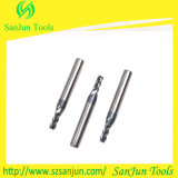 Naco Coatng를 가진 텅스텐 Solid Carbide Plain End Milling Cutter