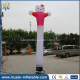 Beau modèle gonflable de publicité commercial, danseur d'air pour la publicité