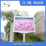 L'affichage à LED polychrome extérieur lumineux le plus élevé du Cabinet SMD P10 de fer