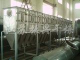 Secador de ebulição horizontal da base fluida para o pó químico