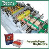 Saco automático del papel del cemento del certificado del CE que hace la máquina