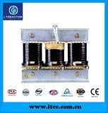 Reatores Detuned C.A. trifásicos para o banco do capacitor