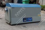 Alumina de Oven van de Buis met Twee het Verwarmen Streken