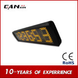 [Ganxin] 6digit GPS機能の黄色い電子クロックLEDデジタル柱時計