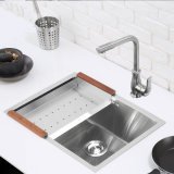Cucina Ware Stainless Man Made Sink Stainless Steel Kitchen Ware Sink (7543S)