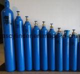 99.999% Cilindro de gás de alta pressão do hélio