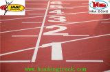 2014 juego Inchen asia caucho prefabricada pista de atletismo