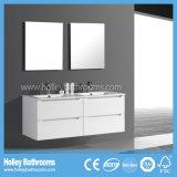 Australien-Art-populärer moderner Badezimmer-Speicher mit zwei Spiegeln und Bassins (BC117V)