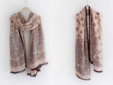 女性の方法ペーズリーによって印刷されるビスコース絹のスカーフ(YKY1129)