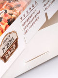 Kundenspezifische schwarze Lebensmittelklassenpizza-Kästen