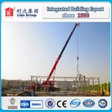 Almacén de dos pisos de la estructura de acero de los UAE