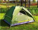 Tentes campantes de personne de la vente en gros 3-4, tentes imperméables à l'eau extérieures de Double couche